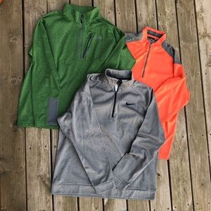 Nike Golf north face pop over XXL shirts bundle